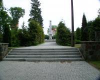 Военное советское кладбище. Моронг, июнь 2012