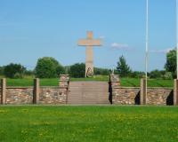 Мемориальное кладбище на Кранцер аллее. Калининград, август 2018