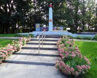 Братская могила советских воинов. Фурманово, сентябрь 2018