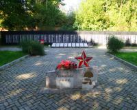 Братская могила советских воинов. Фурмановка, сентябрь 2018