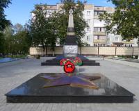 Братская могила советских воинов. Гусев, сентябрь 2018