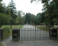 Военное советское кладбище. Остроленка, август 2018