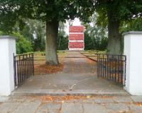 Военное советское кладбище. Мальборк, сентябрь 2018