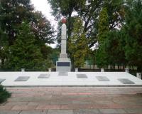 Военное советское кладбище. Тчев, сентябрь 2018