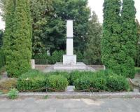 Военное советское кладбище. Штум, сентябрь 2018