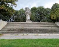 Военное советское кладбище. Жуково, сентябрь 2018
