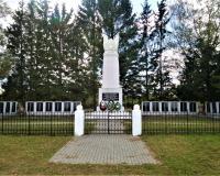 Братская могила советских воинов. Богатово, сентябрь 2018