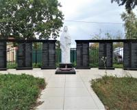 Братская могила советских воинов. Голубево, сентябрь 2018