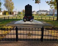Братская могила советских воинов. Полесск, октябрь 2018