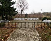 Братская могила советских воинов. Ватутино, ноябрь 2018