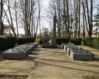 Братская могила советских воинов. Зорино, март 2019