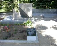 Кладбище советских воинов в поселке Ленкимай, Литва.