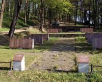 Кладбище советских воинов в поселке Пайявонис, Литва. Апрель 2019