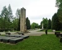 Военный советский участок на коммунальном кладбище. Краков, май 2019