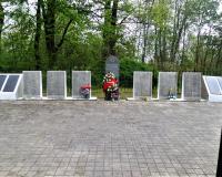 Братская могила советских воинов. Полевое, май 2019