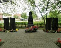 Братская могила советских воинов. Калининград, улица Зощенко, май 2019