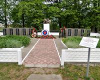 Братская могила советских воинов. Славяновка, май 2019
