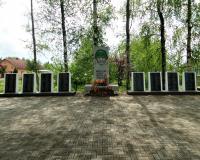 Братская могила советских воинов. Зайцево, май 2019