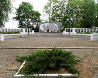 Братская могила советских воинов. Железнодорожный, май 2019