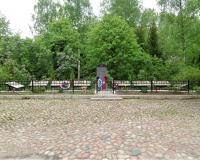 Братская могила советских воинов. Крылово, май 2019