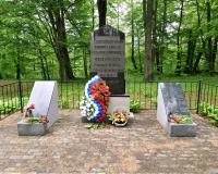 Братская могила советских воинов. Подлипово, май 2019