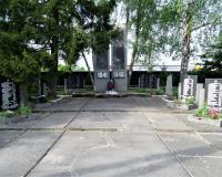 Братская могила советских воинов. Комсомольск, май 2019