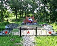 Братская могила советских воинов. Тургенево, июнь 2019