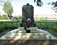 Братская могила советских воинов. Полесск, июнь 2019