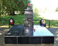 Братская могила советских воинов. Громово, июнь 2019